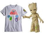 Festival de Groot en el unboxing de merchandising de 'Guardianes de la Galaxia Vol.2'