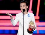 'Stranger Things': Millie Bobby Brown estalla en lágrimas recogiendo su premio MTV