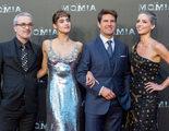 Tom Cruise es todo un galán en la premiere de 'La Momia' celebrada en Madrid