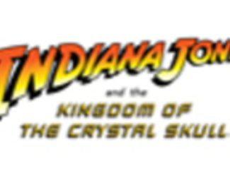 Logotipo oficial de 'Indiana Jones and the Kingdom of the Crystal Skull'