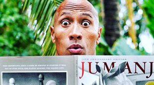 'Jumanji: En la selva' promete emociones fuertes en su primer tráiler
