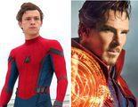 Tom Holland y Benedict Cumberbatch coinciden en el rodaje de 'Avengers: Infinity War'
