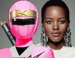Lupita Nyong'o ('Black Panther') fue a la Comic-Con de incógnito disfrazada de Power Ranger rosa