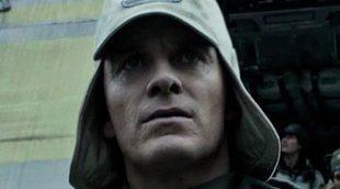 El cementerio de los Ingenieros en esta escena eliminada de 'Alien: Covenant'