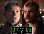 El meme del día: Jaime Lannister y Euron Greyjoy, cuñados en el partido Sevilla-Barcelona