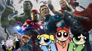 Los Vengadores y las Supernenas unidos en el meme del día