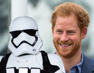 Tom Hardy y los príncipes Harry y Williams tendrán un cameo en 'Los últimos jedi'
