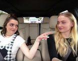 Maisie Williams y Sophie Turner imitan a Ned Stark en el 'Carpool Karaoke' de 'Juego de Tronos'