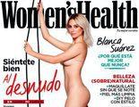 Ángel Martín parodia la portada de Blanca Suárez desnuda para Women's Health