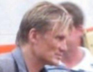 Dolph Lundgren en el rodaje de 'The Expendables'