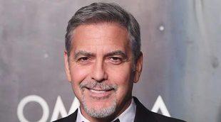 George Clooney no planea volver a actuar por el momento