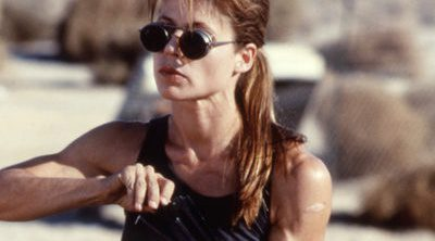 Linda Hamilton se une a James Cameron y Schwarzenegger en 'Terminator'