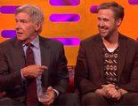 """'Blade Runner 2049': Harrison Ford se """"olvida"""" del nombre de Ryan Gosling en medio de una entrevista"""