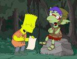 El nuevo capítulo de 'Los Simpson' está plagado de guiños a 'Juego de Tronos' y otras ficciones de fantasía