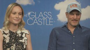 Brie Larson y Woody Harrelson desvelan los secretos de 'El castillo de cristal'