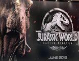 'Nuevo' póster de 'Jurassic World: El reino caído' con Chris Pratt, uno de sus velocirraptores y el T-Rex