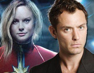 Jude Law se apunta a 'Captain Marvel'
