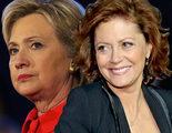 Susan Sarandon cree que si Hillary Clinton fuese presidenta 'estaríamos en guerra'