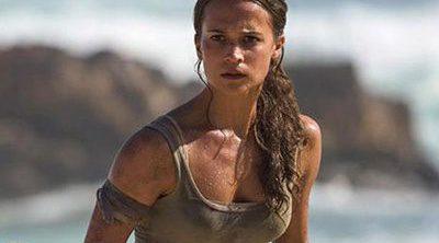 El nuevo póster de 'Tomb Raider', ¿acertará con el cuello de Alicia Vikander?