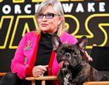 'Star Wars: Los últimos Jedi': El perro de Carrie Fisher la reconoce en pantalla