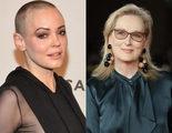 Rose McGowan ataca a Meryl Streep y a la protesta contra Weinstein en los Globos de Oro