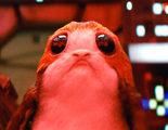 'Star Wars: Los últimos Jedi': Esto es lo que pasa cuando das un porg a los protagonistas