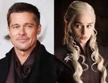 Brad Pitt dispuesto a pagar 120.000 dólares para ver 'Juego de Tronos' junto a Emilia Clarke
