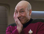 'Star Trek': Una foto de Patrick Stewart como el capitán Picard con pelo se vuelve viral