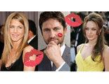 A Gerard Butler le preguntan quién besa mejor, ¿Angelina Jolie o Jennifer Aniston?