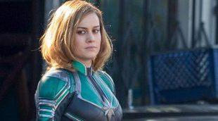 Primer vistazo a Brie Larson con el traje de 'Captain Marvel'