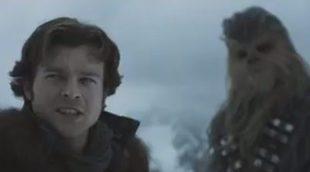 'Han Solo: Una historia de Star Wars': Primer tráiler épico, divertido y muy oscuro