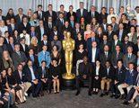 Los nominados a los Oscar 2018 se hacen la foto de familia con una Agnès Varda de cartón