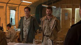 Póster para España en exclusiva de '12 Valientes' con Chris Hemsworth