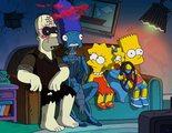 'Los Simpson': Los personajes mirando de frente es lo más terrorífico que verás hoy