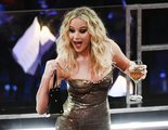 Jennifer Lawrence se monta su propia fiesta en los Oscar saltando por los asientos