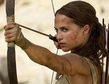 'Tomb Raider' es lo más visto en la taquilla española en su estreno, muy reñida con 'La tribu'