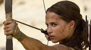 'Tomb Raider' y 'La tribu' se pegan por el primer puesto de la taquilla