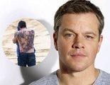 Matt Damon opina sobre el (horrible) tatuaje que Ben Affleck tiene en la espalda