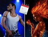 'Bohemian Rhapsody' adelanta su estreno pero 'Dark Phoenix' y 'Los Nuevos Mutantes' se retrasan aún más