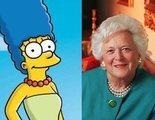 'Los Simpson' y las críticas de Barbara Bush, primera dama que acabó pidiendo perdón