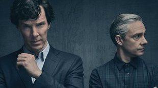 """A Benedict Cumberbatch le parecen """"patéticos"""" los comentarios de Martin Freeman sobre 'Sherlock'"""