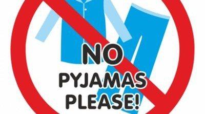 Queda prohibido ir en pijama al cine