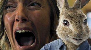 Terror en un pase de 'Peter Rabbit' ante la proyección del tráiler de 'Hereditary'