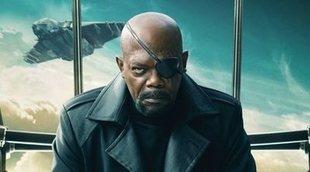 'Captain Marvel': Un joven Nick Fury se deja ver en las nuevas fotos del rodaje