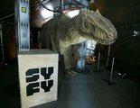 SYFY celebra del 25 aniversario de 'Parque Jurásico' con maratón y un dinosaurio en Madrid