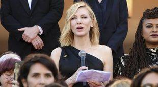 Un momento histórico en el Festival de Cannes