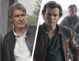 'Han Solo: Una historia de Star Wars': Harrison Ford sorprende a Alden Ehrenreich durante una entrevista