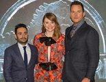 'Jurassic World: El reino caído': Chris Pratt y Bryce Dallas Howard contra los elementos en la premiere en Madrid