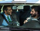 Dani Rovira es un taxista cabreado en el rodaje de 'Taxi a Gibraltar, una buddy movie con 'Shrek y el burro'