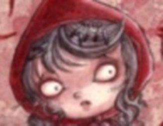 Versión gótica de 'Caperucita roja'